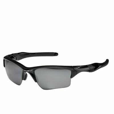New Oakley Half Jacket 2.0 XL Polished Black Iridium Lens OO9154-01 Sunglasses