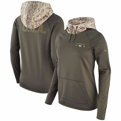 brand new 9b9e4 8431a DALLAS COWBOYS NIKE Women's Salute to Service Performance Pullover Hoodie -