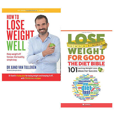 Lose Weight For Good 2 Books Collection Set How to Lose Weight Well Paperback