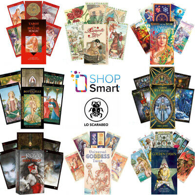 Tarot Cards Lo Scarabeo Deck Oracle Esoteric Fortune Telling New