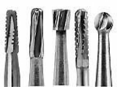 All Sizes Tungsten Steel Carbide Burs (Operative, Trimming&Finishing, Surgical)