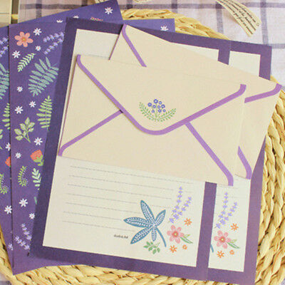 Beautiful Envelopes Letter Pad Sets Letter Paper Writing Sets school supplies