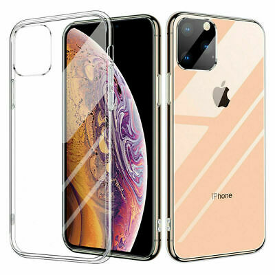 iPhone 6 8 7 Plus X Case Soft Silicone Clear Transparent Slim Gel TPU Rubber