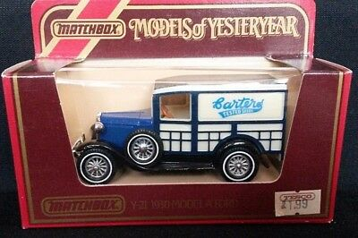 Matchbox Models Of Yesteryear Y7 1930 Model A Ford Wreck