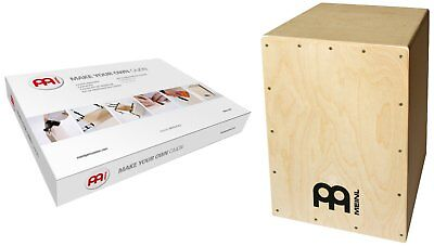 Cajon Drum Box Construction Kit Percussion Front Panel Mini Wood Birch DIY Gift