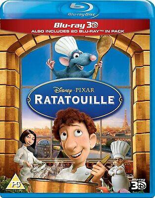 Ratatouille (3D Edition with 2D Edition) [Blu-ray]