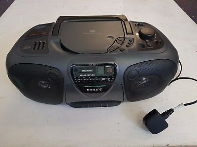 Philips Az8057 Portable Cd Player Faulty Cd Player Trusted Ebay Shop 9 99 Picclick Uk