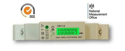 OB112 45A Single Phase Meter MID