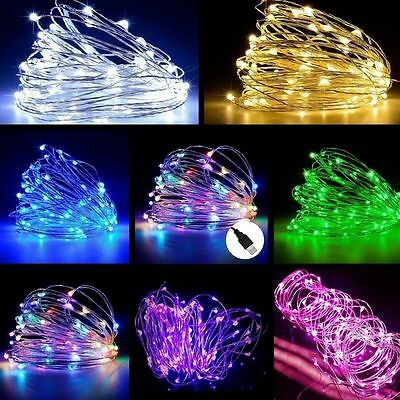 Copper Wire String Fairy Light 2M 20LED USB LED Strip Lamp Xmas Party Waterproof