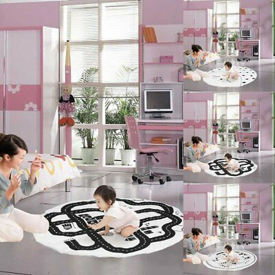 Soft Children Kids Play Rug Carpet Game Mat Bedroom Baby Crawling Blanket