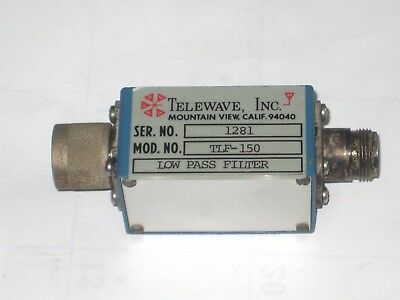 Telewave Low Pass Filter