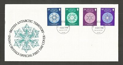 B.a.t 1986 Inter Glaciological Society Fdc Sg,151-154 Lot 5608A