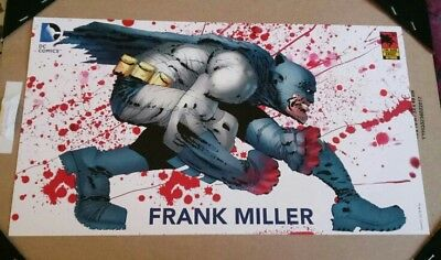 Batman Dark Knight 3 Master Race Promo Mini Print Frank Miller