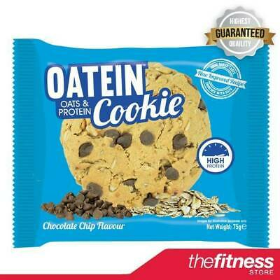 Oatein Cookies (12x75g) - High Protein Delicious Cookies - FAST FREE DELIVERY