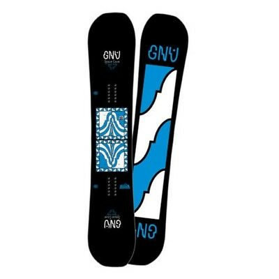 Gnu Snowboard - Space Case - Forest Bailey, Asymmetrical, Magne-Traction - 2018