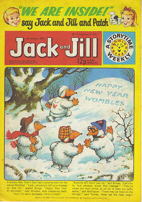 Jack And Jill Comic Jan 6 1979 (New Year Issue) - Wombles Harold Hare Tiger Tim