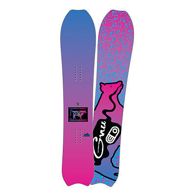 Gnu Snowboard - Super Progressive Air Machine - 157cm, Airblaster Colab - 2018