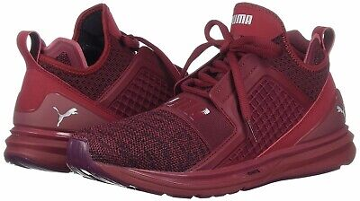 5f424c31241 New Men s PUMA Ignite Limitless Knit Cross Training Sneaker - 189987-04 Red