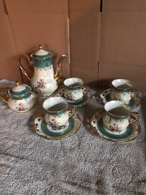 Sun Potter Tea Set. Japan But (Missing Creamer )Extra Plate