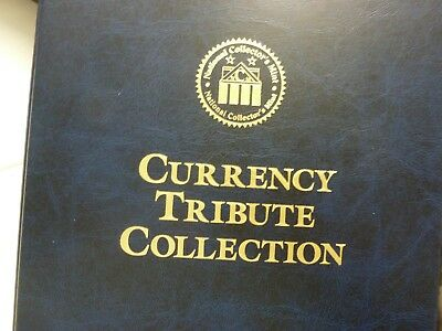 Gold Leaf Tribute Certificates U.S.Bill 22KT Gold leaf $100,000, $10,000 & $5000