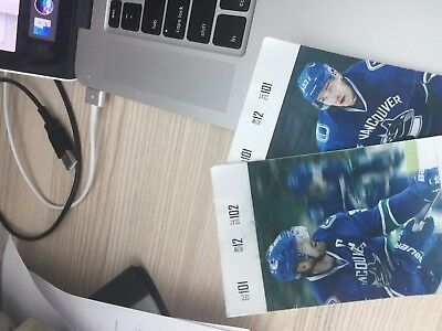 2 Tickets Vancouver Canucks vs Dallas at Rodgers Arena October 30th