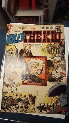 Billy the Kid #19 VG (Charlton 1959). Nice Severin cover. Nice old comic book