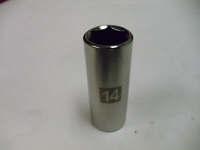 """Craftsman 1/4"""" Drive Deep Laser Etched Sockets Metric & STD 6 Point, Made in USA"""