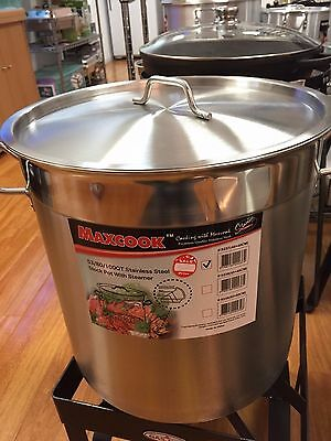 100 QT Heavy duty stock pot with steamer
