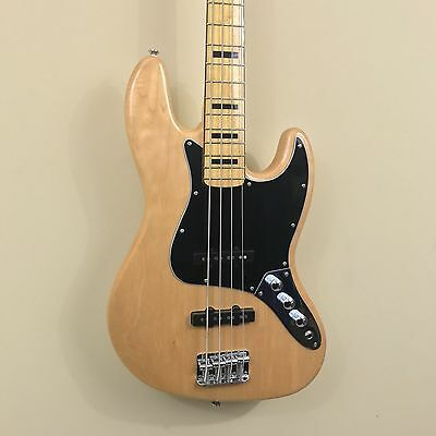 Squier Vintage Modified Jazz Bass '70s Electric Bass - Natural