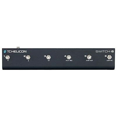 TC Helicon Switch 6 6-Button Footswitch for VoiceLive & Play Series FX Units