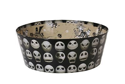 Disney the Nightmare Before Christmas Jack Skellington Paperboard Candy Bowl