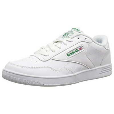 MEN S REEBOK CLUB MEMT (WIDE 4E) Sneaker White Glen Green V70198 ... cf85bf06d