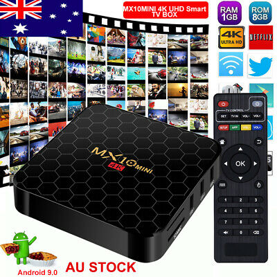 Amlogic S905X Android 7.1 Nougat TV BOX 4K HDMI Media Player Network Streamer AU