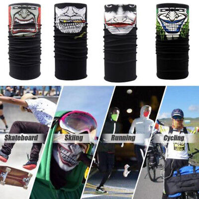 Halloween Party Clown Cycling Motorcycle Neck Tube Ski Scarf Face Mask Balaclava