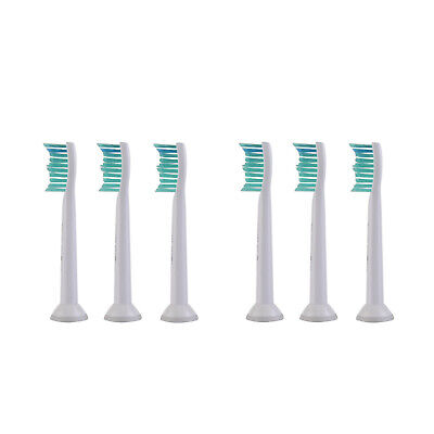 6X Genuine Philips Sonicare HX6013 Proresults Replacement Brush Heads --two pack
