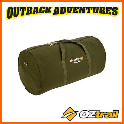 Oztrail Canvas Swag Bag Single Size Fits King Single Duffle Bag Free Postage