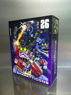 New Transformers MFT MF26 Sharkticon Fish Man Team In stock MISB