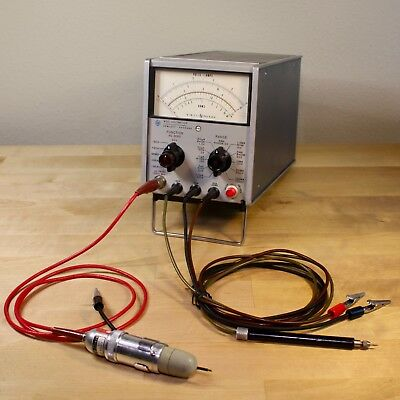 HP 410C Electronic Voltmeter - Solid State VTVM - Fully Restored & Calibrated