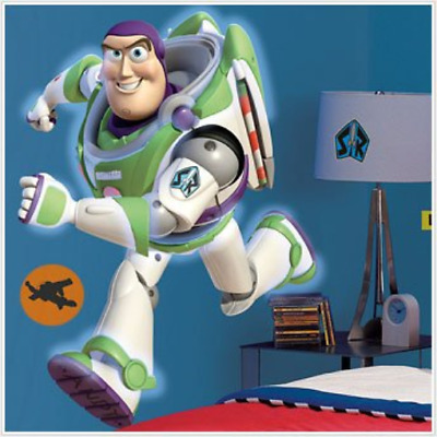 Toy Story 3 Glow in the Dark Buzz Lightyear and Friends Mega Decal Pack - 1 Glow