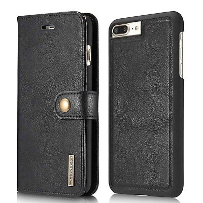 Luxury Leather iPhone 7 & 8 Wallet Case Detachable Slim Cover RFID Protection CA