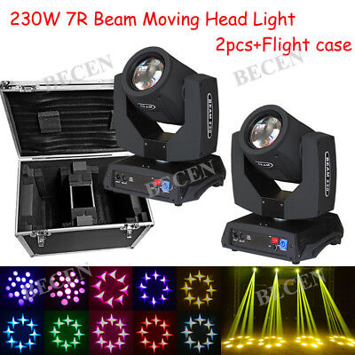 230W 7R Sharp Beam Moving Head Light 8 Prism For Party DJ Stage FreeShip From US
