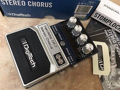 Digitech CR-7 Stereo Chorus Hard Wire Effects Pedal