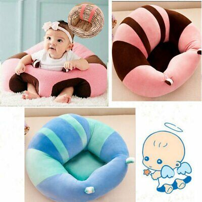 Cotton Baby Support Seat Soft Chair Car Cushion Sofa Plush Cute Pillow Pads Toy
