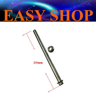12mm 220mm Swingarm Bolt Wheel Rim Axle 50cc 110cc 125cc Pit Dirt ATV Quad Bike