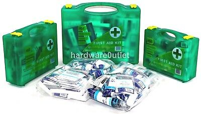 HSE FIRST AID Premier Boxes 1/50 Persons & Refills UK Compliant Kits Best Price