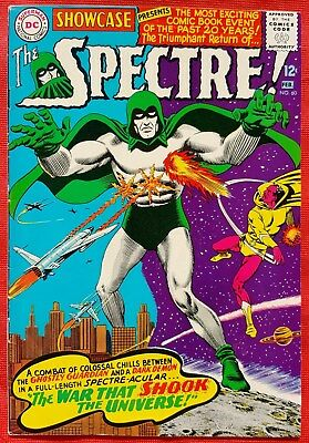 SHOWCASE FEATURING THE SPECTRE 60 DC Silver Age 1966 1st Silver Age appearance