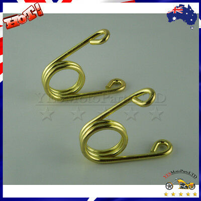 "Motorcycle Gold Steel 2.5"" Torsion Solo Seat Springs For Harley Chopper Bobber"