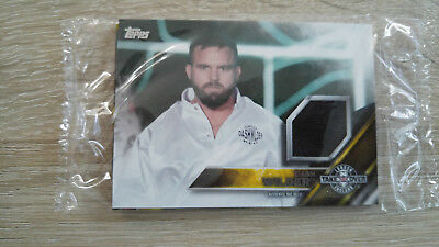 2016 Topps WWE Dash Wilder Card NXT London Takeover Authentic Mat Relic
