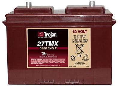 12v 105AH Trojan Ultra Deep Cycle Narrowboat Battery