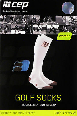CEP Progressive+ Golf Socks Golfsocken Women Damen Kompression WP40G Sky IV Neu